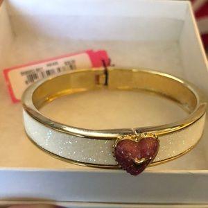 White sparkly bracelet